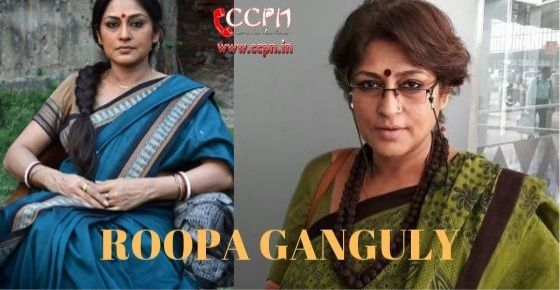 How to Contact Roopa Ganguly
