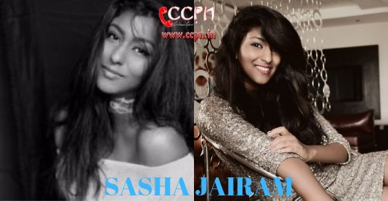 How to Contact Sasha Jairam