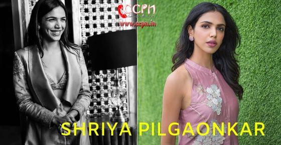 How to Contact Shriya Pilgaonkar