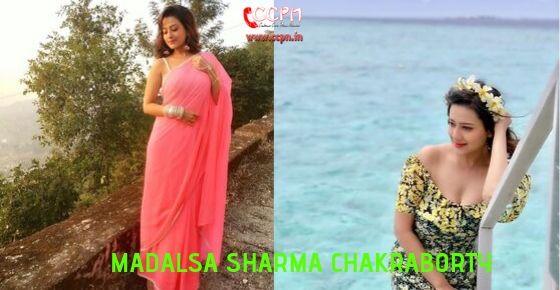 How to Contact Madalsa Sharma Chakraborty