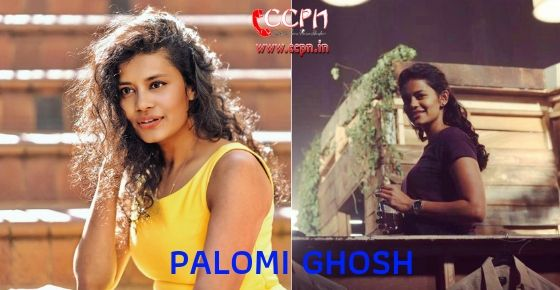 How to Contact Palomi Ghosh