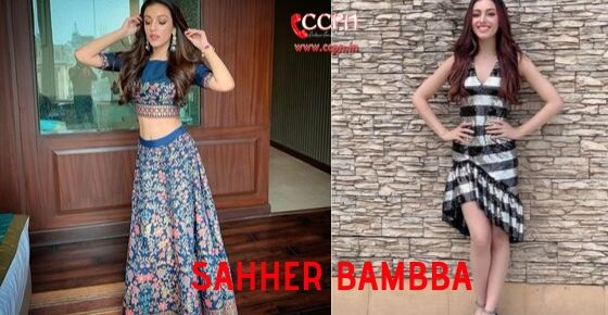 How to Contact Sahher Bambba