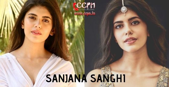 How to Contact Sanjana Sanghi