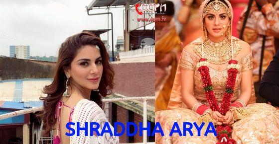 How to Contact Shraddha Arya