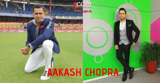 How to Contact Aakash Chopra