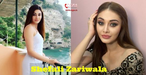 How to contact Shefali Zariwala?