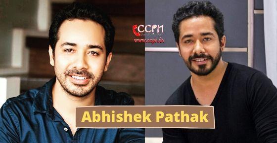 how to contact Abhishek Pathak?