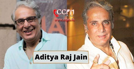 how to contact Aditya Raj Jain?