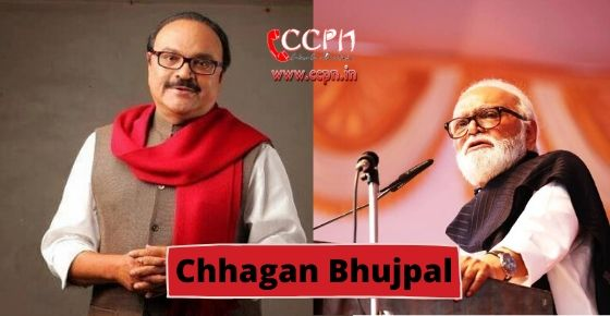 how to contact Chhagan Bhujpal?