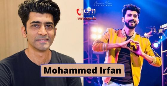 how to contact Mohammed Irfan?