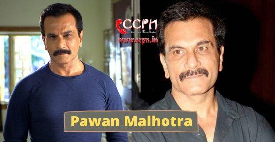 how to contact Pawan Malhotra?