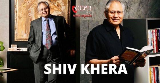 how to contact Shiv Khera?