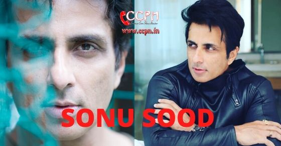 how to contact Sonu Sood?