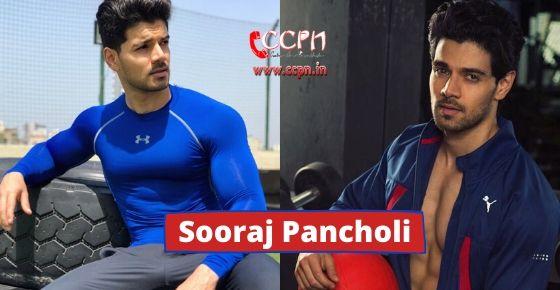 how to contact Sooraj Pancholi?