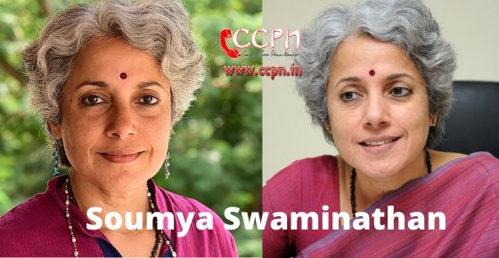 how to contact soumya swaminathan?