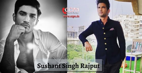 how to contact actor and model Sushant Singh Rajput?