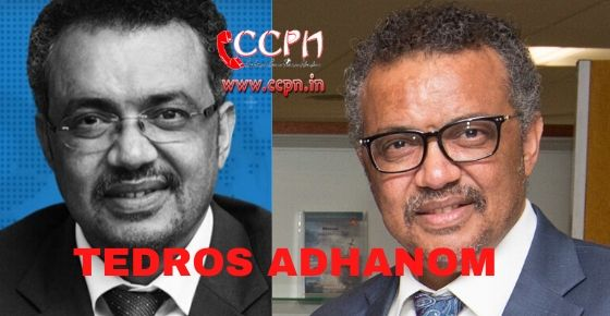 how to contact tedros adhanom?