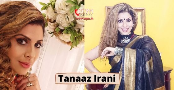 how to contact Tanaaz Irani?