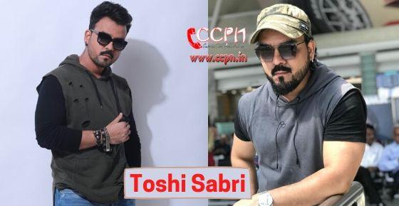how to contact Toshi Sabri?