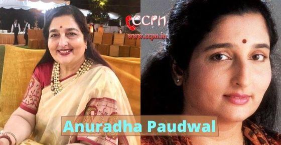 How to contact Anuradha Paudwal?