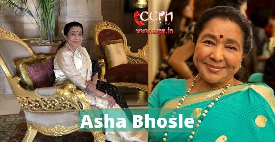 How to contact Asha Bhosle?