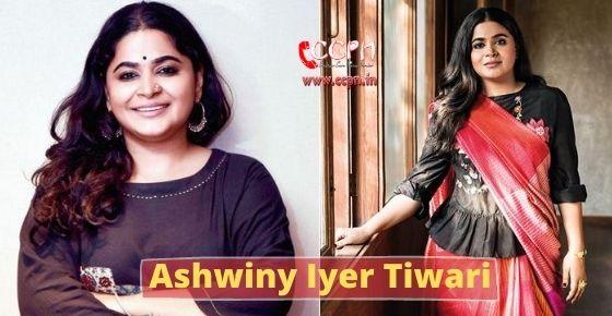 How to contact Ashwiny Iyer Tiwari?