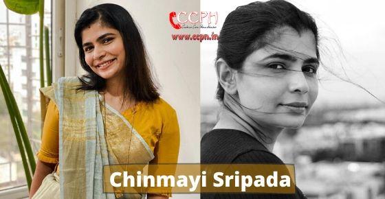 How to contact Chinmayi Sripada?