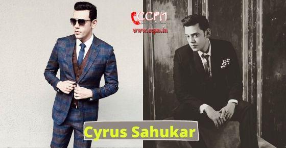 How to Contact Cyrus Sahukar?