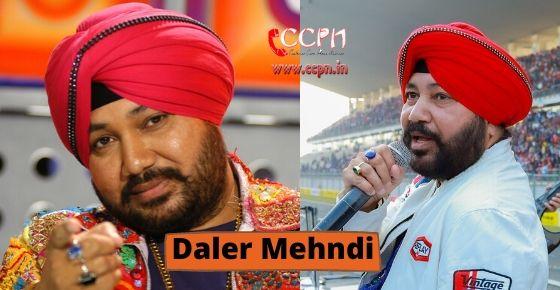 How to contact Daler Mehndi?