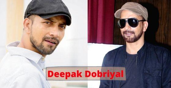How to contact Deepak Dobriyal?