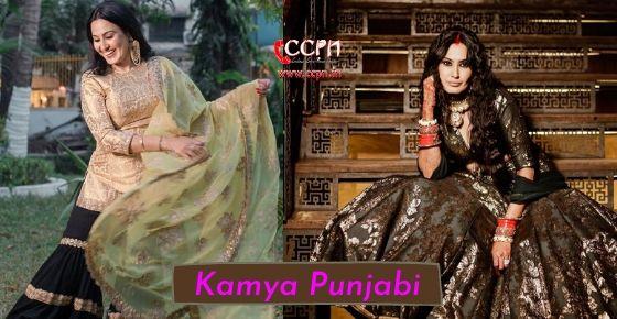 How to contact Kamya Punjabi?