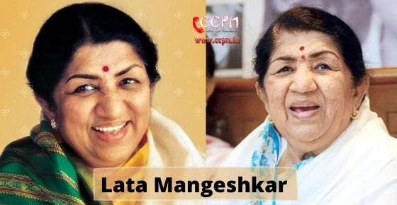 How to contact Lata Mangeshkar?