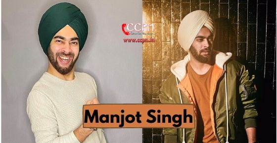How to contact Manjot Singh?