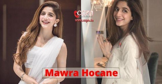 How to contact Mawra Hocane?