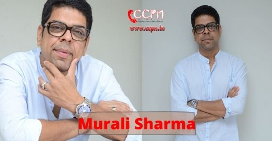 How to contact Murali Sharma?