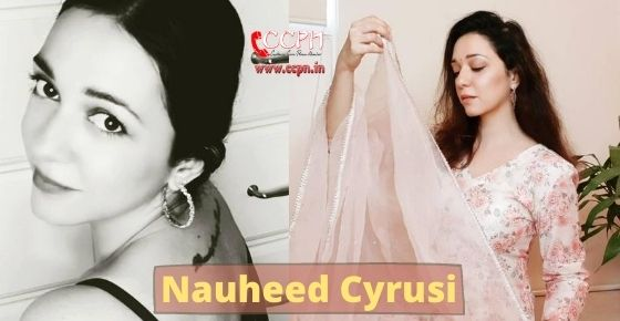 How to contact Nauheed Cyrusi?