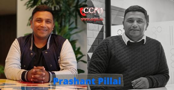 How to contact Prashant Pillai?