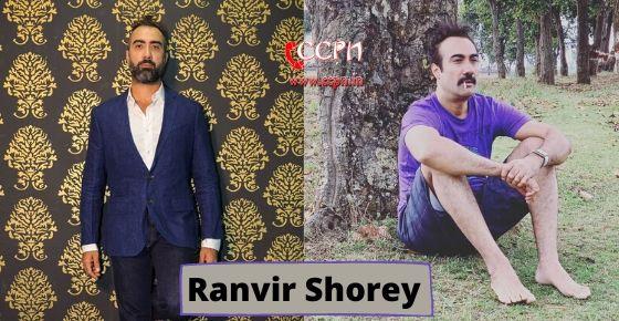How to contact Ranvir Shorey?
