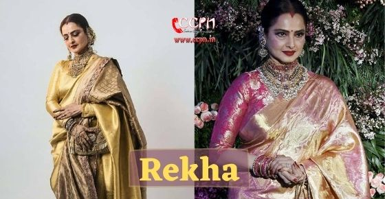 How to contact Rekha?