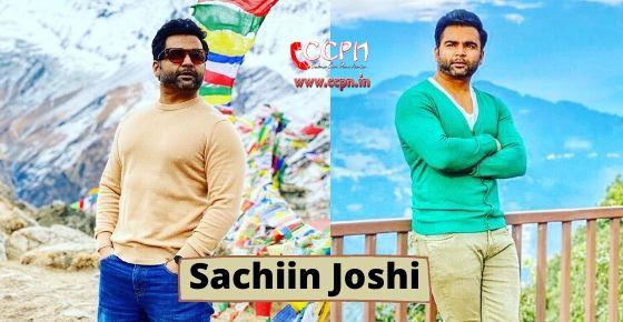 How to Contact Sachiin Joshi?