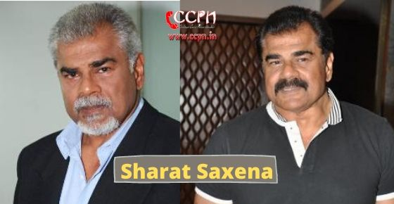 How to contact Sharat Saxena?