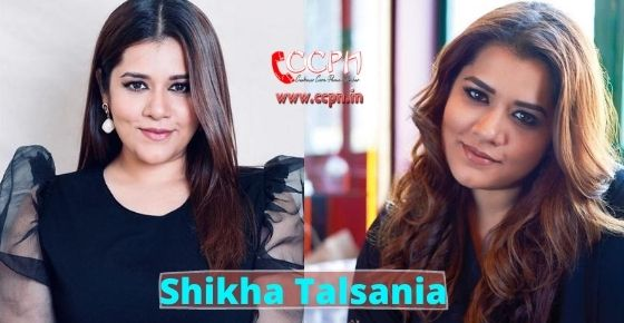 How to contact Shikha Talsania?
