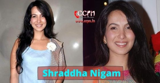 How to contact Shraddha Nigam?