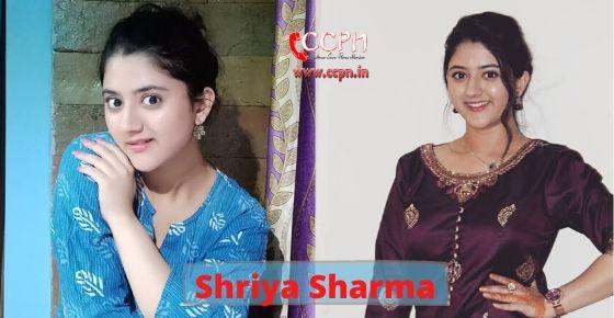 How to contact Shriya Sharma?