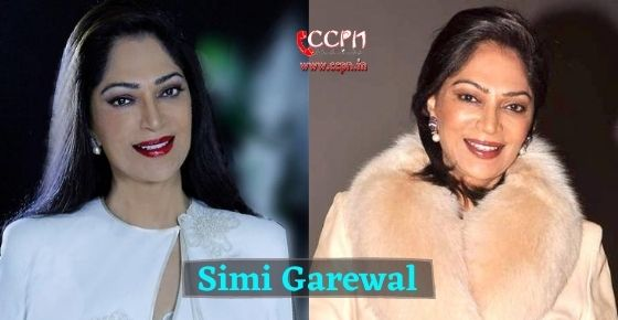 How to contact Simi Garewal?