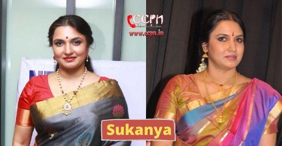How to contact Sukanya?