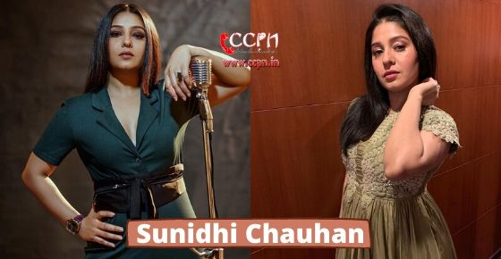 How to contact Sunidhi Chauhan?
