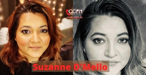 How to contact Suzanne D'Mello?