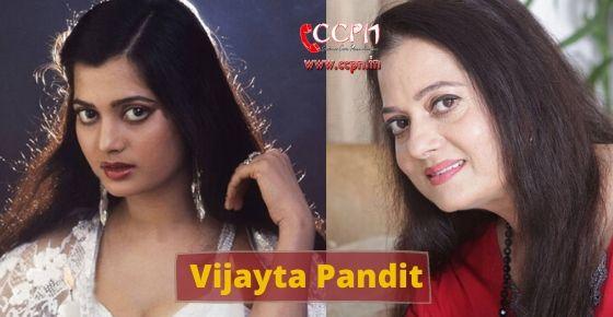 How to contact Vijayta Pandit?