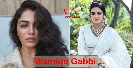 How to contact Wamiqa Gabbi?
